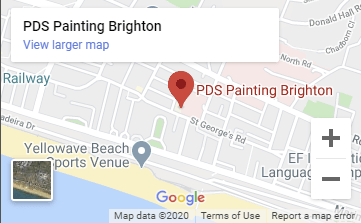 PDS Painting Brighton Map